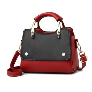 Women Designer Handbags Luxury Crossbody Messenger Shoulder Bags Chain Bag Good Quality Pu Leather Purses Ladies Handbag Red