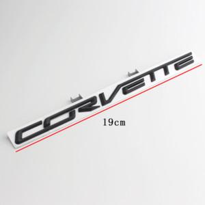 Para 2014-2019 Chevrolet Corvette Stingray Z06 C7 Emblema de la etiqueta de la etiqueta de la etiqueta de la etiqueta