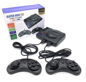 MD SG816 Super Retro Mini TV Video Game Console for Sega Mega Drive MD 16Bit 8Bit 600 Plus Classic Retro Built-in Games With 2 Gamepads
