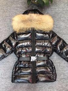 Winter Coat Women Down Jacket With Real Raccoon Hair Women Down Coat Puffer Windbreaker Parka Jacket High Quality Outfit Fluffy Windbreak-1