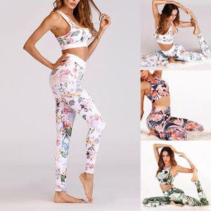 Jeu de yoga pour femmes STPTSwear Costumes d'impression numérique Pantalon de sport Pantalon costume Pantalon Vêtements Yoga Corde de gymnastique à séchage rapide