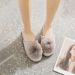 GKTINOO Cute Women Slippers Home Indoor Women House Shoes Summer Ladies Slides 201203