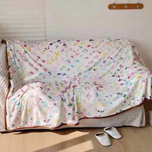 Lüks Tasarımcılar Battaniye Yüksek Kaliteli Seyahat Ev Ofis Battaniye Klima Bebek Uyku Yumuşak Sıcak Battaniye