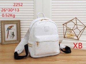 PU кожаная школьная сумка дизайнер рюкзак напечатанный мода горячая унисекс большая емкость путешествия подросток b a g # 273 высокое качество цветка цветка