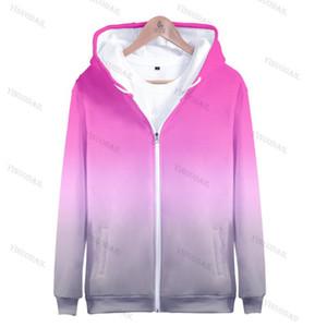 3D Printed Zipper Hoodies Women Men Harajuku Fashion Long Sleeve Hooded Sweatshirts 2020 Hot Sale Streetwear Clothes