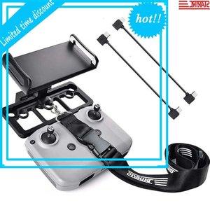 StarTRC Mini Teléfono Monte Houder Tablet Stand W / 30cm OTG OTG TYPE-C Cables para DJI MAVIC AIR 2 Control remoto