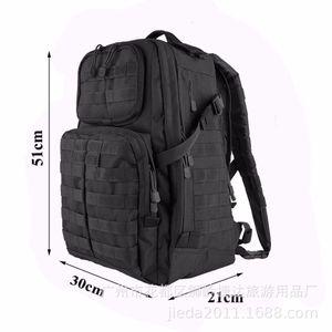 Тактический час зарядки открытый рюкзак альпинизм компьютерная сумка повседневная камуфляж