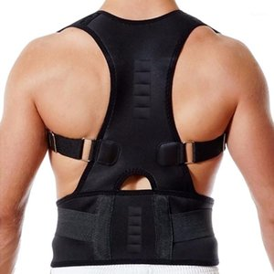 Posture réglable Support Brace Aimant Therapy Sangles Back Col Correcteur Spine Support Brace DrocShipping1
