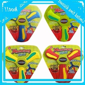 Fun & Throw Catch Interactive Boomerang Throwback Disc Outdoor Park Special Flying Toys Sport