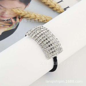 Japanese and Korean fashion hairpin headdress simple fresh diamond crystal jewelry