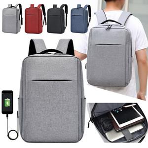 USB Anti-theft Laptop Backpacks 15 Inch Large Capacity Travel Bagpack Men Waterproof Charging Backpack Student Laptop Bag Pack