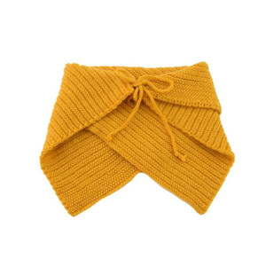 Pudcoco Adorable Toddler Boys Girls Autumn Winter Collar Scarf Baby Neck Knitted Cotton Triangle Scarves Warm Shawl Wraps Gift Swy jllncL