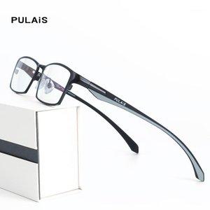 Lunettes de lumière anti-bleues Hommes Square Myopia Eyewear lunettes lunettes Spectacles Bleuilight Gafas Gaming Gaming Ordinateur de jeu1