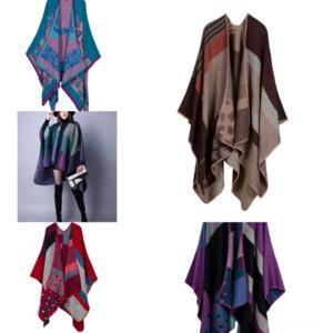I8B7i Мода шарф градиент шелк длинные шарфы мягкий элегантный шарф обертка норки меховой шарф SHL дамы напечатанные шал все-матч высокое качество
