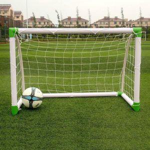"Portable Mini Kids Soccer Goal for Backyard 47""x31"" Training Football Sports Net"