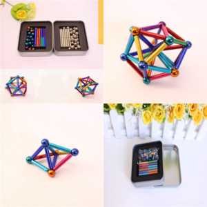 7uF Play Hand Non-toxic Retail squishy decompression toy Mud Sets Education Adult Puzzle Exclusive buckyball Children Clay Dough Modeling