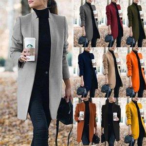 women coat jacket for spring autumn Windbreaker Women long jacket streetwear outwear plus size 5XL 201017