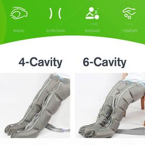Quality6 Air Chambers Leg Compression массажер Arm Талия Ноги Пневматическая вибрации Therapy Air Обертывания тела Relax Обезболивание Массаж