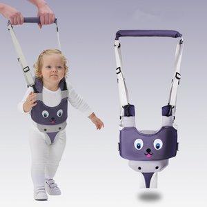Bebek Yürüteç Koşum Sırt Çantası Tasmalar Andador Para Bebe Baykuş Bebek Çocuk Asistanı Walker Tekerlek Öğrenme Güvenlik Toddlers W1217