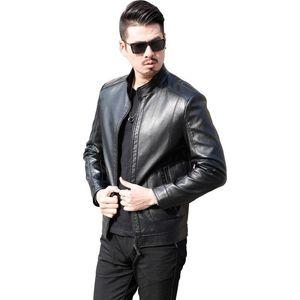Men's Fur & Faux 2021 Luxury Men Clothing A Good Quality Fashion Casual Leather Coat Jacket Mens Winter Coats Plus Size M-3XL