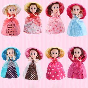 Neue Cupcake Überraschung duftende Prinzessin Puppe Reversible Kuchen Umwandeln in Mini Princess Puppe Multi-Color Cake Princess Kreative Puppenspielzeug