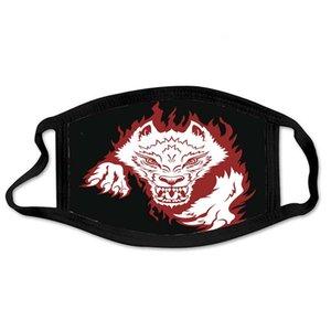 Face Mask Designer Fashion Designer Mask Men Women Mouth Masks Anger Wolf Kid Adult Cotton Reusable Washable Mask