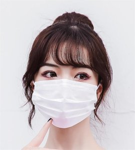 Pm2.5 Filter Mascherine Layer Individual Dustproof Thick Filtration 3 Facemasks White Kf94 Level Face Mask 2 95% Packs Conformite Europ Soro