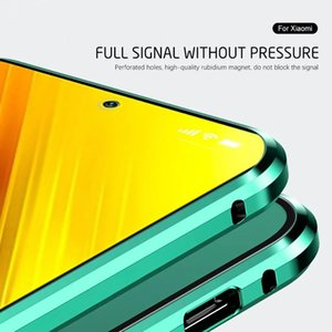 For Iphone 12 Mini Case 360 Magnetic Phone Cover For Iphone12 Pro Max Aifon 12pro 12mini Double Sided Tempered Gla bbytvg