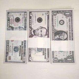 Prop-Waffe 1 5 10 20 50 100 US-Dollar-Prop-Münzen-Dollar-Fake-Film-Geld Billet spielen Geld 02