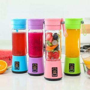 Mixer Electric 380ml Personal Blender Portable Mini Blender USB Juicer Cup Electric Juicer Bottle Fruit Vegetable Tools