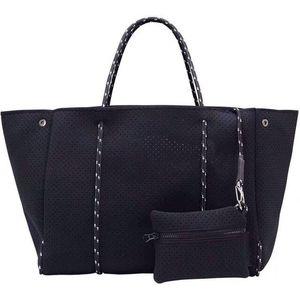 2020 Luxus Frauen Tote Crossbody Große Einkaufen Neoprenbeutel Leichte Frauen Handtaschen Bolsas Weibliche Tasche Geldbörse Taschen 0928