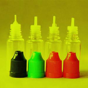 30ml 전자 시가 병에 대한 무료 DHL 선적 아프 E 액체 플라스틱 Dropper 병 아동 증거 병 뚜껑 바늘 팁