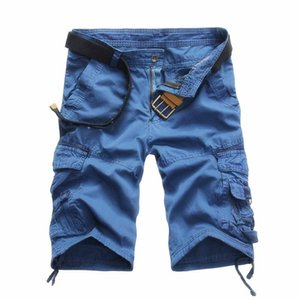 2020 New Camouflage Tooling Shorts Men's Casual Shorts Men's loose Work Uniform