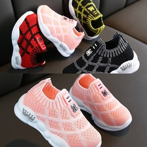 Children Top Top Casual Shoes for Boys Kids Girls Sneakers Breathable Anti-Slip Plaid Print Shoes Toddler Soft Soled Shoes