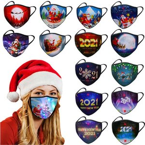 Masques à LED Hiver Hiver Chaud Dustoutes Masque Christmas Christmas Masque Holiday Maquillage Costumes Masque XD24218