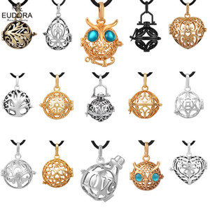 Eudora 16 mm Harmony Ball Floating Lockets Mexican Bola Aromatherapy Locket cage Pendant for 16mm Angel Caller Pregnant ball