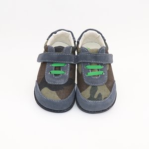 TipsieToes Top Brand High Quality Genuine Leather Stitching Kids Children Shoes Barefoot For Boys Spring New Arrival Y201028