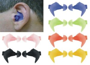 Soft Ear Plugs Silicone Waterproof Dust-Proof Earplugs Diving Water Anti Noise Snoring Sleeping Accessories
