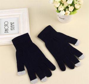 Women's Winter Touchscreen Glove Thermal Magic Gloves Touch Screen Magic Gloves Warm Knitted Full Finger Mittens jllUka bdefight
