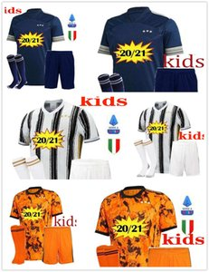 Fans Player JUVENTUS soccer jersey 2020 2021 football shirts 4th RONALDO DE LIGT 20 21 DYBALA RAMSEY JUVE Third away Men + Kids kit uniforms