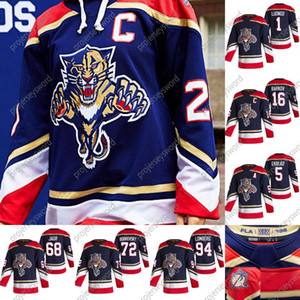 Florida Panthers Frank Vatrano 2020-21 Retro Retro Hockey Jersey Vincent Trocheck Connor Brickley Nick Bjugstad James Reimer Weegar Jersey