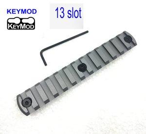Slot High 13 Quality CNC Alluminio Picatinny / Weaver Rail Road