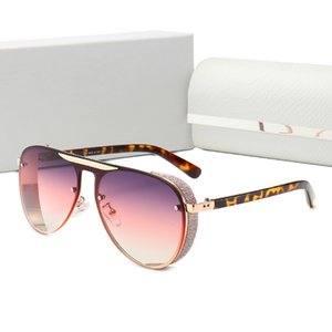 Novos óculos de sol de luxo homens mulheres de metal vintage óculos de sol estilo de moda óculos de sol quadro quadrado quadro de metal uv 400 lente caixa original