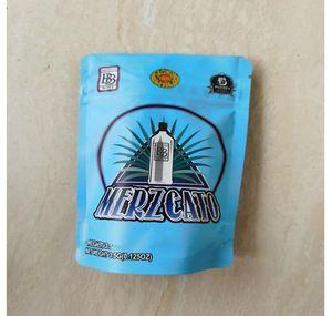 Merzcato kinderfeste Taschen 3.5-7G Mylar Taschen Lokale leere Beutel-Edibles Verpackung SQCFEU yy_d 6ome