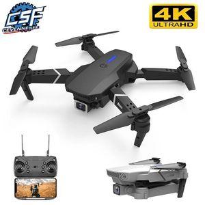 2020 новый E525 Drone 4K HD HD широкоугольный двойной камерой 1080P Wi-Fi визуальный позиционирующий рост Удерживайте RC Drone Следите за мной RC Quadcopter Toys1
