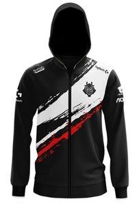Lol League Lec G2 ESPORTS Pro Player Hoodie Uniform Jersey Wunder Jankos Caps Perkz Mikyx CSGO Game Major Jaqueta C0127