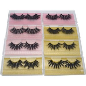 5D 20mm 25mm 3D faux Mink Eyelashes Mink False lashes Soft Natural Thick Fake Eyelashes Extension Beauty tools