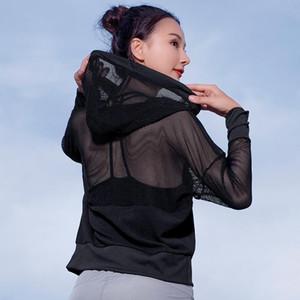 Bénis de Yoga Top Sport Chemise Sport Fitness Femmes Été À Capuche À Capuche à manches longues Nepoagym Sports Porter pour la femme T-shirt de gymnastique 270025