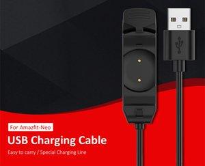 Зарядное устройство Dock Smart Watch 1M Зарядка кабельного шнура браслеты зарядки линии для Amazfit Neo A2001 Кабели зарядных устройств