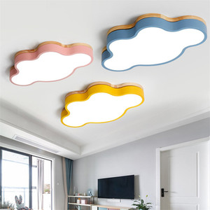 Macaron LED ceiling lamp ultra-thin cloud lamp boy girl children bedroom lamp creative kindergarten classroom ceiling light